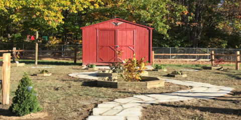 Atwood Reading Garden is Done!