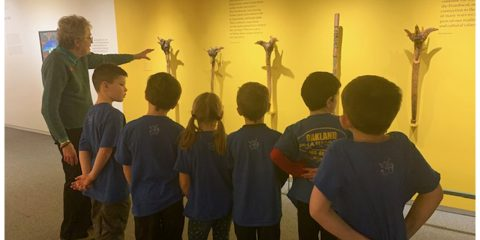 Atwood 2nd grade visits Colby Museum